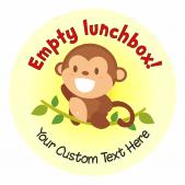 Cheeky Monkey Lunchtime Reward Stickers