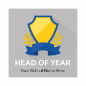 Academic Rewards Head of Year Stickers