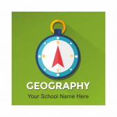 Geography academic Reward Stickers