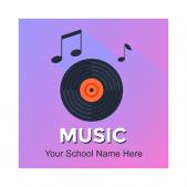 Music Academic Reward Stickers