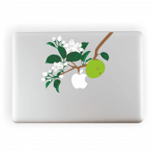 Apple Tree Laptop Sticker