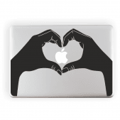 Heart Laptop Sticker