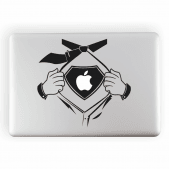 Superhero Laptop Sticker