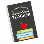 Worlds Best Teacher Notebook