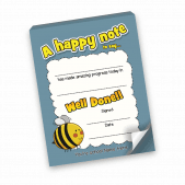 A Happy Note Bumble Bee Notepad