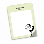 Telephone Message Notepad