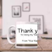 Thank you Teacher Mug