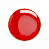 Round Badge Red