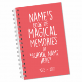 Magical Memories Leavers Notebook