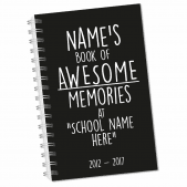 Awesome Memories Leavers Notebook