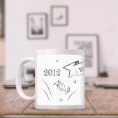 Doodle Graduation Mug