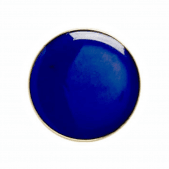 Round Badge Blue