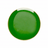 Round Badge Green