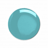 Round Badge Pastel Blue