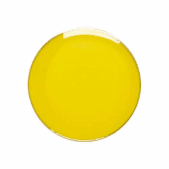 Round Badge Yellow