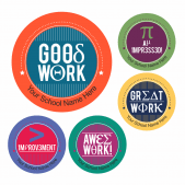 Maths Equation Praise Stickers