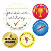 Writing Achievement Stickers