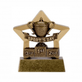 Sports Day Mini Star Trophy