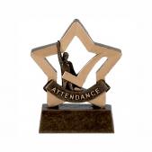 Attendance Mini Star Trophy