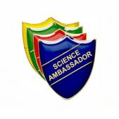 Science Ambassador Pin Badge - Shield
