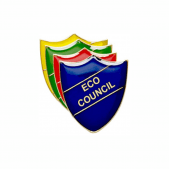 Eco Council Pin Badge - Shield
