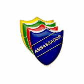 Ambassador Pin Badge - Shield