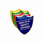 Health & Safety Officer Pin Badge - Shield
