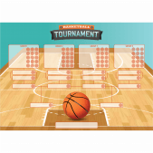 'Basketball Tournament' Class Reward Chart and Stickers