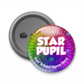 Star Pupil - Customized Button Badge