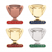Lapel Badge - Achiever Trophy