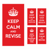 Exam and Revision Stickers