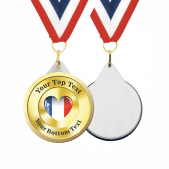 French Custom Medals and Ribbons