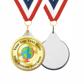 Geography Custom Medals and Ribbons