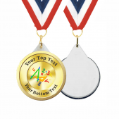 Maths Custom Medals and Ribbons