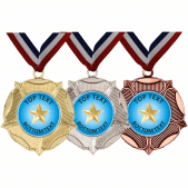 Mixed Medals & Ribbons - Gold Star Designs