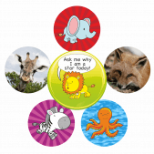 NQT Bumper Pack - Animal Themed Stickers