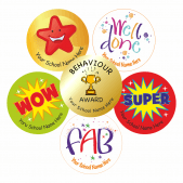NQT Bumper Pack - Personalised Stickers