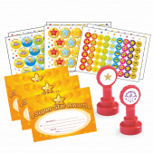 NQT Bumper Pack - Star Stickers, Stampers and Certificates