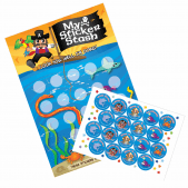 A3 Pirate Reward Charts and Stickers
