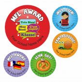 Primary Mixed MFL Stickers