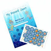 A3 Underwater Reward Chart and Matching 35 Stickers
