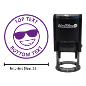 Personalized Grading Stamp - Smiley