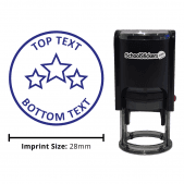 Personalized Grading Stamp - Stars