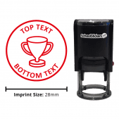 Personalized Grading Stamp - Trophy