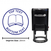 Personalized Grading Stamp - Book