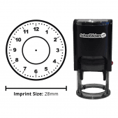 Clock Face Stamper