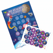A3 Space Reward Charts and Stickers