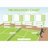 'Tennis Tournament' Class Reward Chart and Stickers