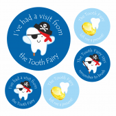 Tooth Fairy Boys Stickers