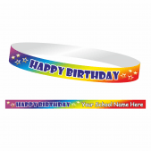 Happy Birthday Wristband
